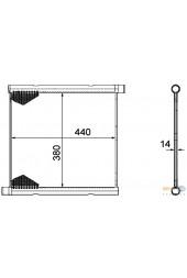 Ψυγείο νερού BEHR HELLA (451)