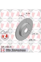 Δισκόπλακες εμπρός ZIMMERMANN (450,451,452)